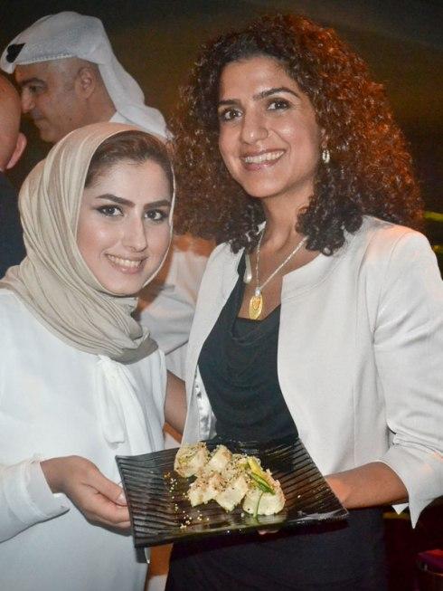Alia Almoayed (right) and Zahra ( of Obai & Hill)