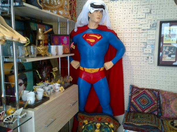 The local Superman