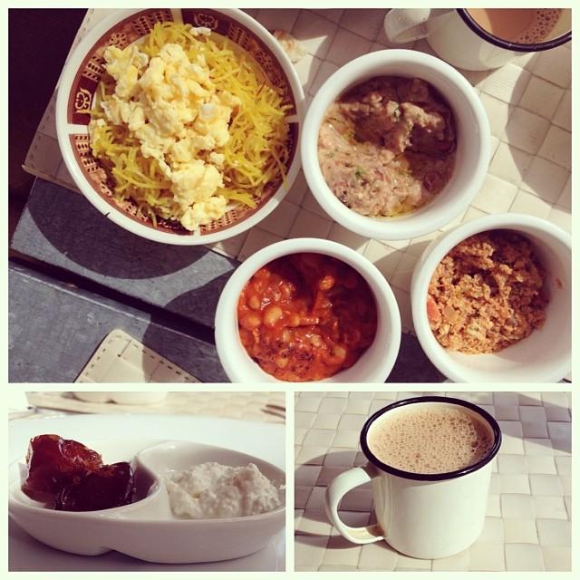 Breakfast at Saffron, Muharraq
