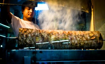 A traditional kebab shop