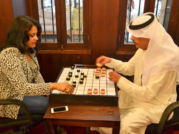 Dama - board game